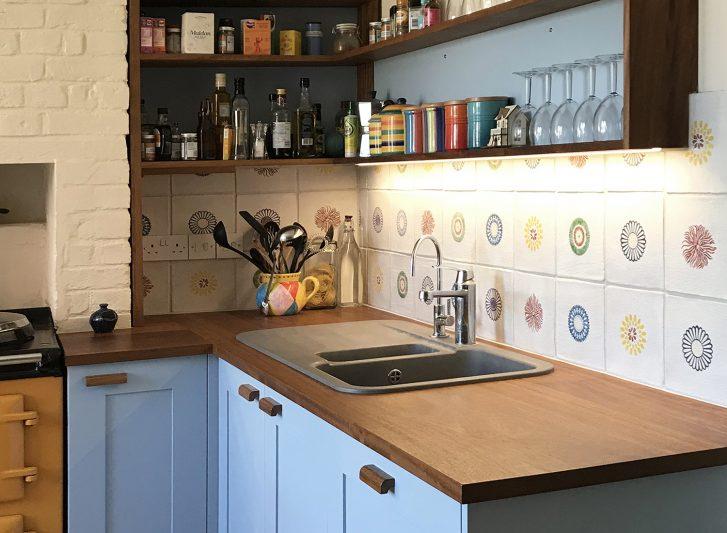 Oliver Legge Blue Shaker Kitchen Image 1