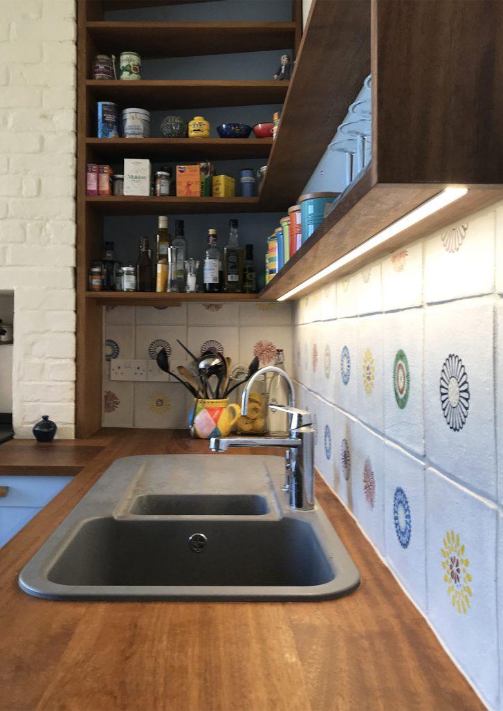 Oliver Legge Blue Shaker Kitchen Image 2