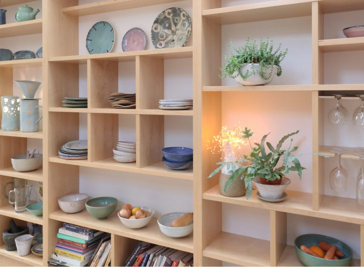 Oliver Legge Fitted Shelving Image 1